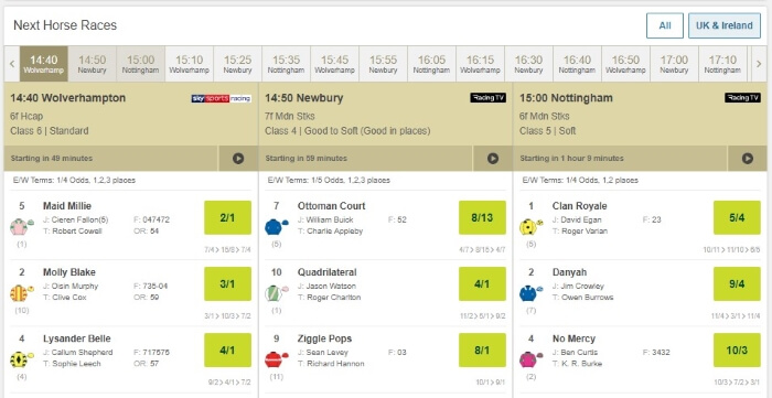 Paddy Power Horse Racing