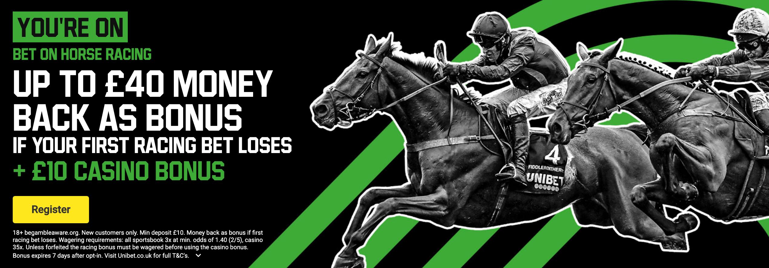 Unibet Horse Racing Offer